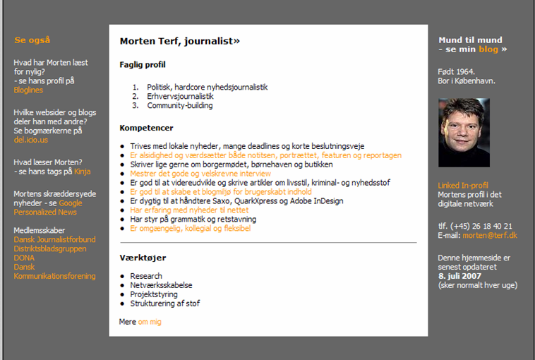 Morten Terfs måde at henvise til links etc