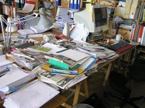 Freelancejournalistens skrivebord - Så RYD DOG OP, KVINDE!
