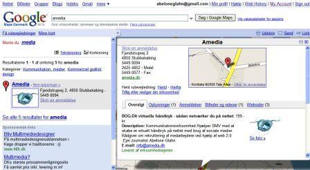 amedia på googlemaps