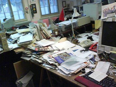 Kreativt skrivebord….
